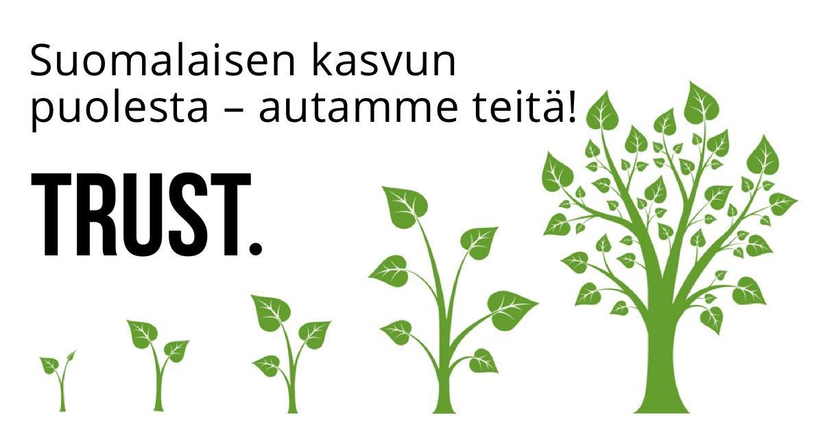 Suomalaisen kasvun puolesta – autamme teitä!